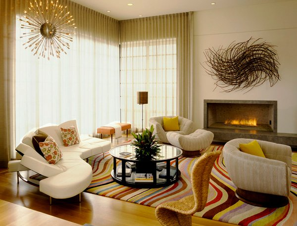 Ordinaire Art Deco Living Rooms