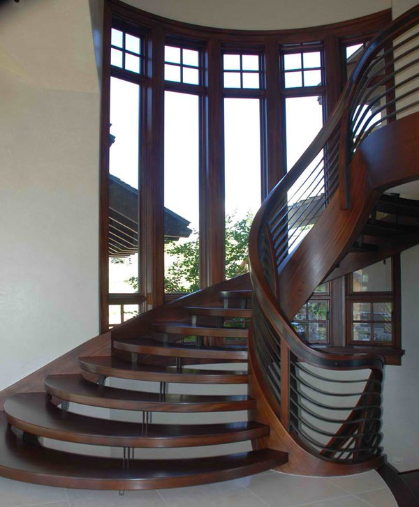 Wooden Staircases: 20 Attractive Wooden Staircase Design