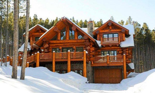 Peak 8 Breckenridge Pioneer Log Home of BC