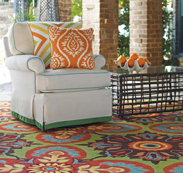 18 Decorative Outdoor Area Rugs Home Design Lover