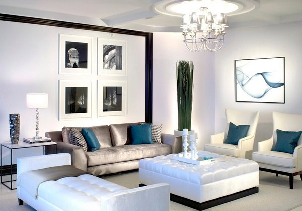 15 Interior Design Ideas of Luxury Living Rooms | Home ...