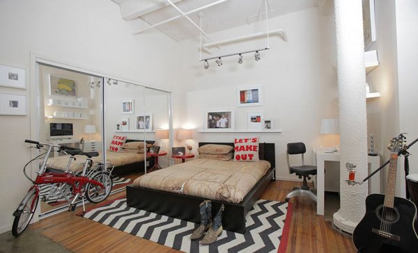 Industrial Bedroom Designs