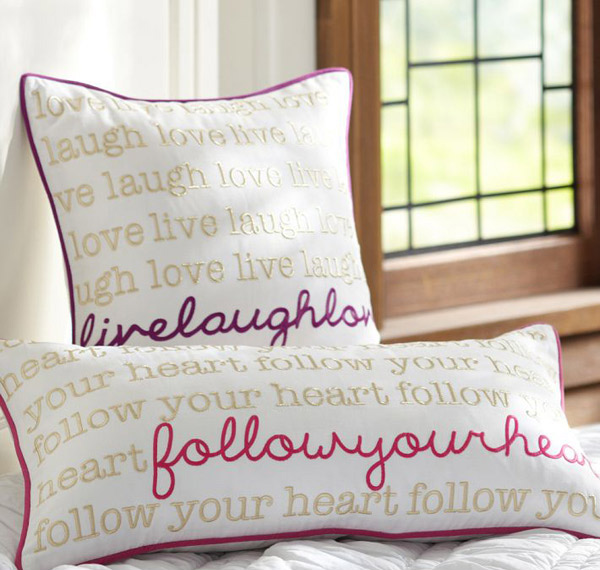 Metallic Inspiration Pillow Cover