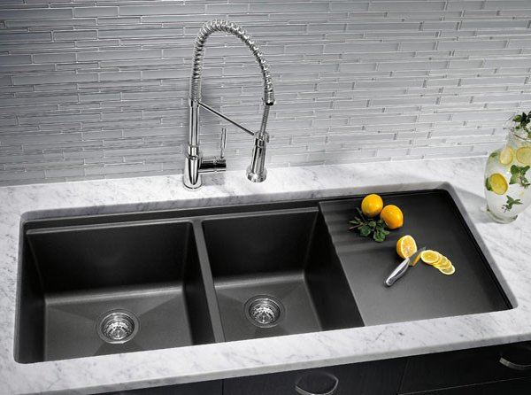 Cleaning Franke Black Kitchen Sink