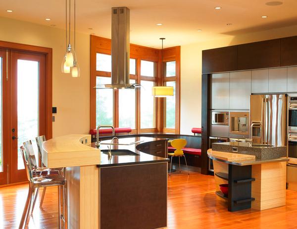 refined kitchen