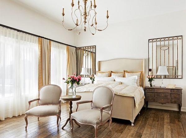 classic French bedroom
