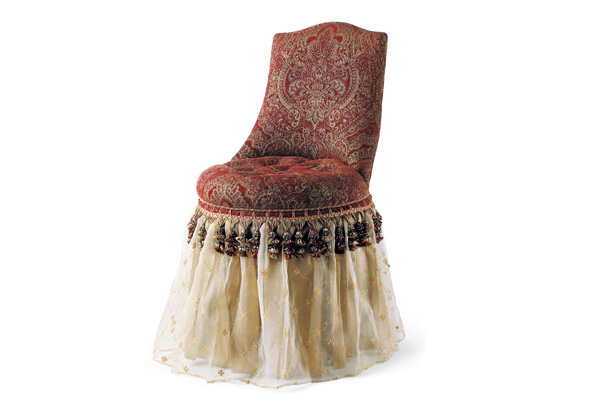 Skirted Vanity Chair