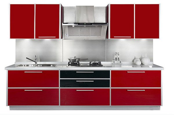 kitchen designs red kitchen furniture modern kitchen. Elegant Design Kitchen Designs Red Furniture Modern 2