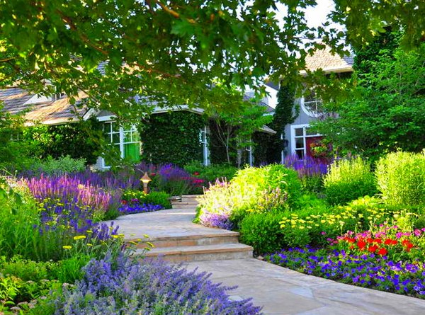 traditional landscape design