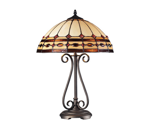 Diamond Ring 1 Light Table Lamp