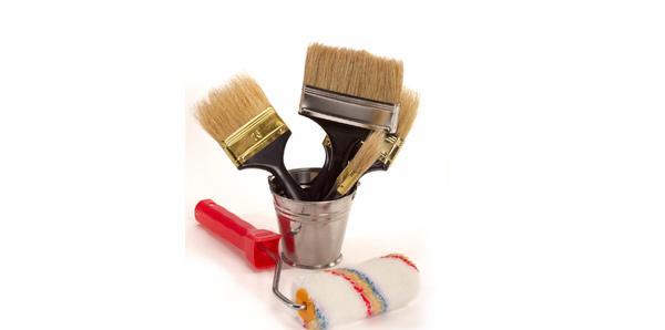 Prepare painting materials