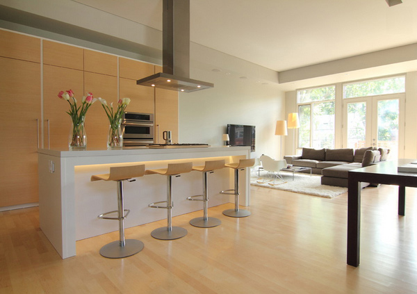 Modern Open Kitchen Design Ideas ~ Lovely open kitchen designs home design lover