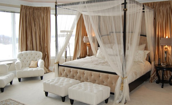 Bedroom Seating Ideas 15 traditional bedroom chairs | home design lover