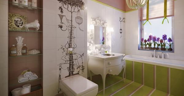 feminine Bathroom