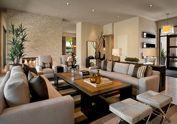 Gorgeous Living Rooms 20 gorgeous living room furniture arrangements | home design lover
