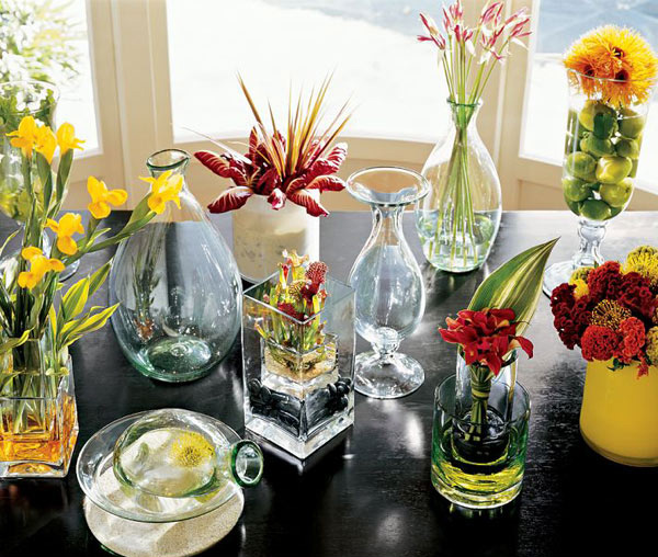 15 Creative Centerpiece Ideas Home Design Lover : 6 RIVER ROCK VASE FILLER from homedesignlover.com size 600 x 540 jpeg 100kB