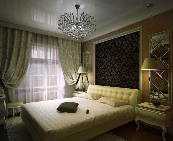 15 art deco bedroom designs home design lover. Black Bedroom Furniture Sets. Home Design Ideas