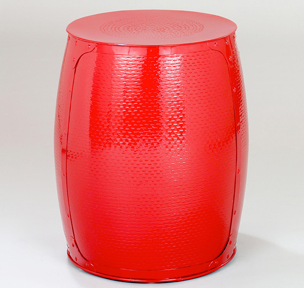 15 Functional And Stylish Drum Stools Home Design Lover