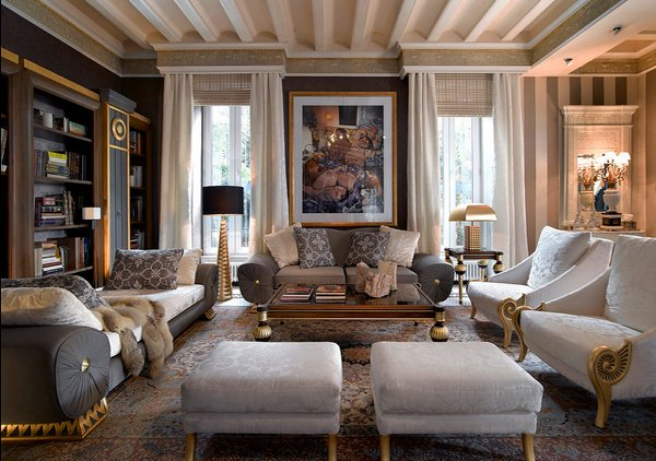 15 Interior Design Ideas of Luxury Living Rooms | Home Design Lover