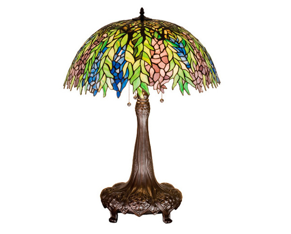 Tiffany Locust Table Lamp