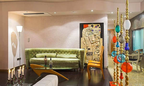 art deco living rooms