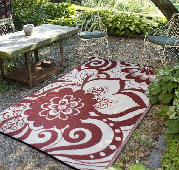 Maui Pattern Outdoor Rug