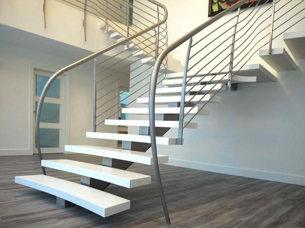 concrete staircase designs