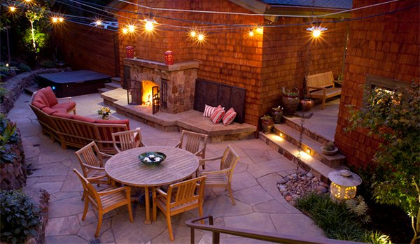 15 backyard landscaping ideas home design lover for Garden design mill valley