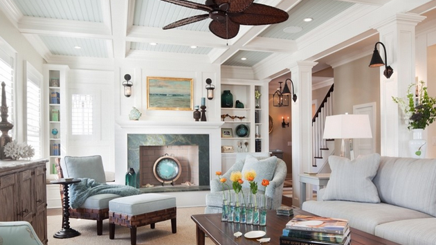 15 Different Living Room Ceiling Treatments Home Design