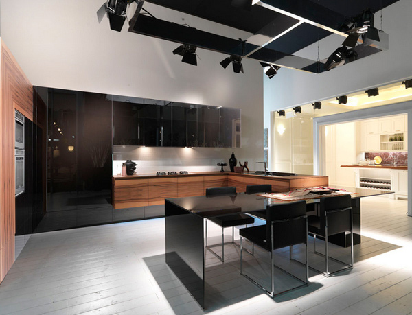 15 Awesome Black Tan Kitchen Designs | Home Design Lover