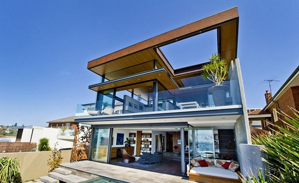 Bronte house a simply sophisticated home in australia for Amazing house designs australia
