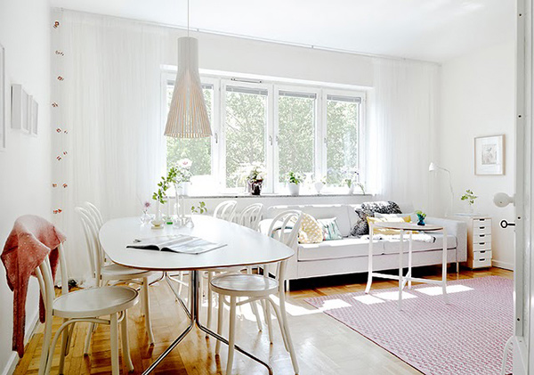 Whimsical Scandinavian Apartment