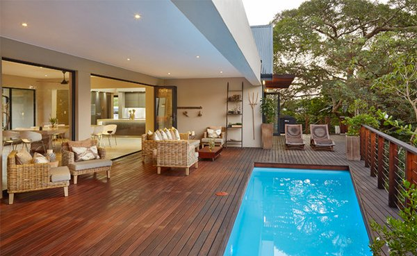 15 Hardwood Swimming Pool Decks Home Design Lover