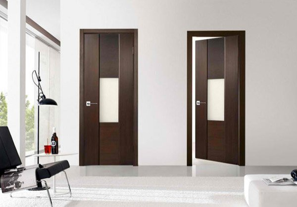 15 wooden panel door designs home design lover for Apartment number design