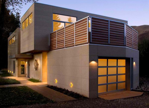 18 Attached Garages in a Modern Inspired Home Design | Home Design Lover