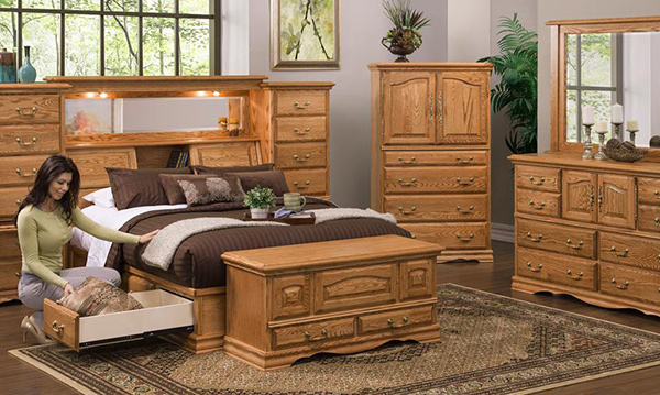 oak bedroom set 15 oak bedroom furniture sets home design lover 12723