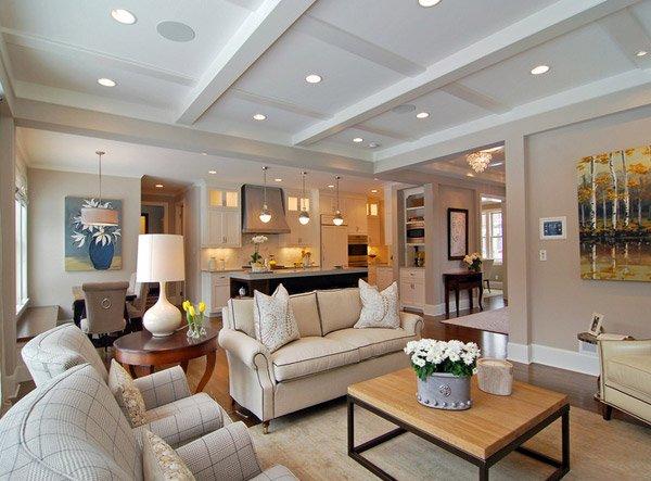 15 Homey Contemporary Open Living Room Ideas Home Design Lover