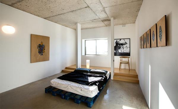 rough concrete ceilings