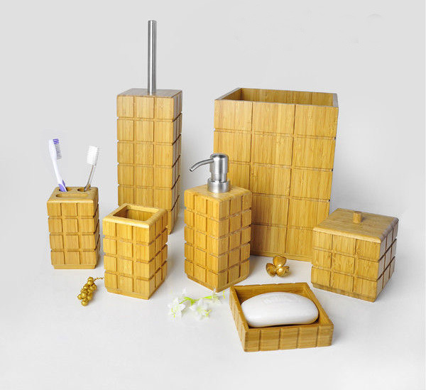 Bamboo Bathroom Sets