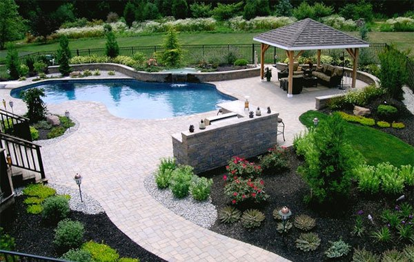 rectangular stone pavers