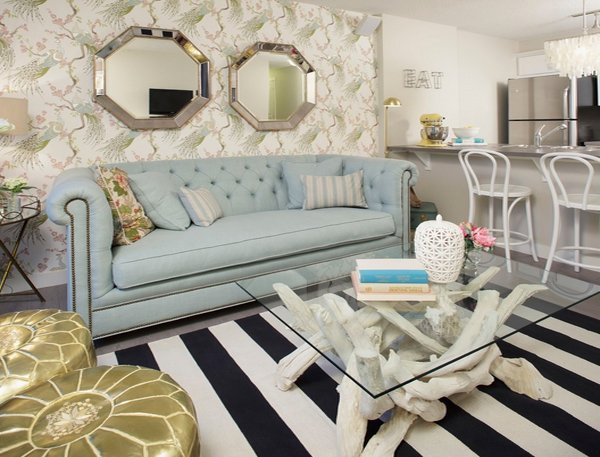 Parisian inspired couch