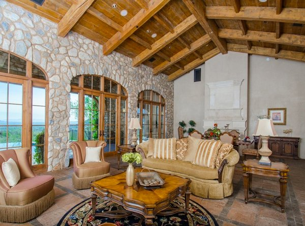 tuscan themed living room 15 stunning tuscan living room designs home design lover 14346
