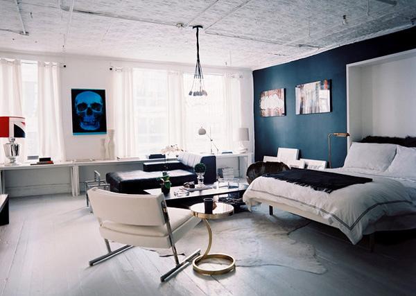 A Masculine Studio Space