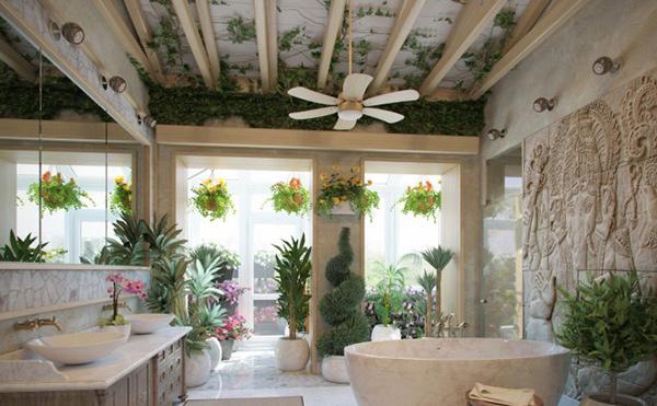 Natural Bath Room