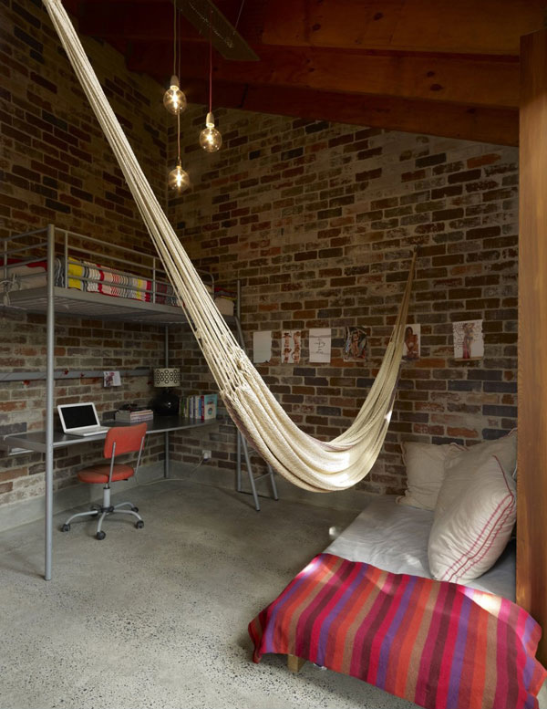 Bedroom hammock