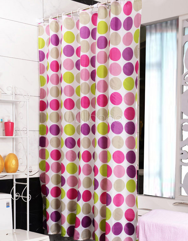 Chic Colorful Shower Milanoo Polka Dots