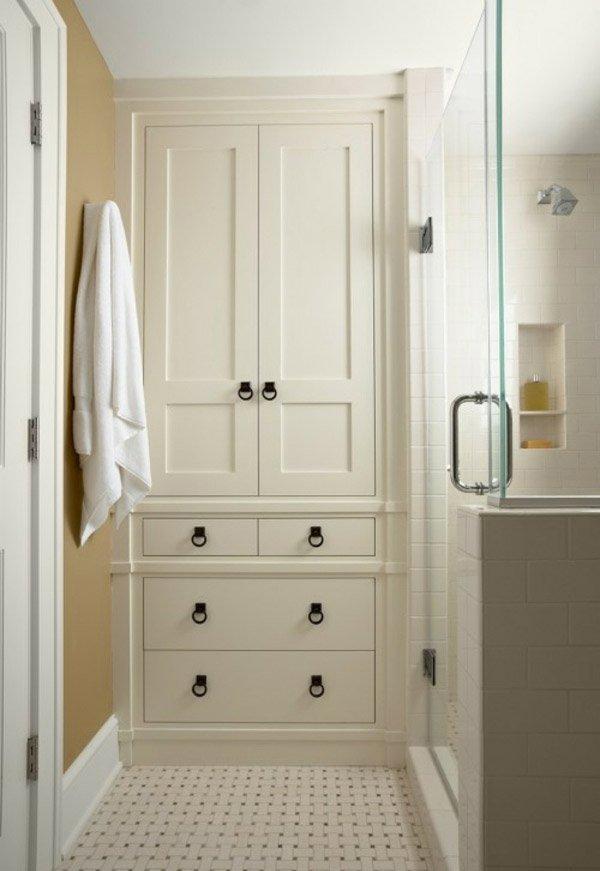 tall bathroom storage