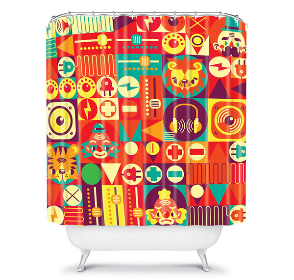Funky Shower Design
