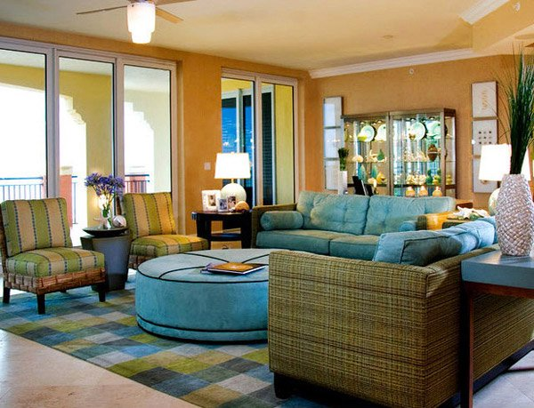 Merveilleux Tropical Living Room Designs