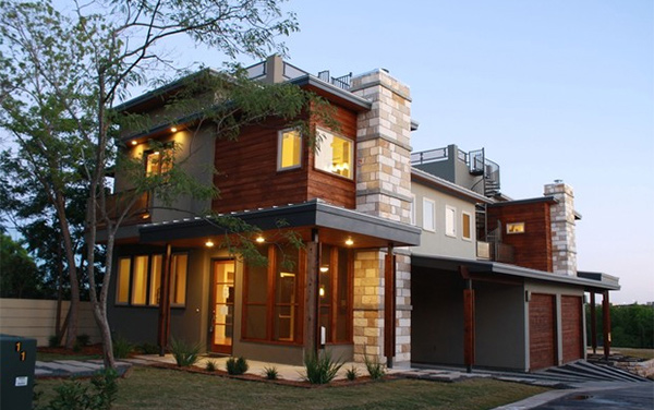 contemporary modern home designs. Contemporary Exterior Austin 15 Geometric Modern Home Designs  Design Lover